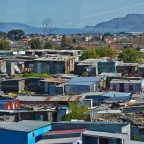 Shacks along the N2