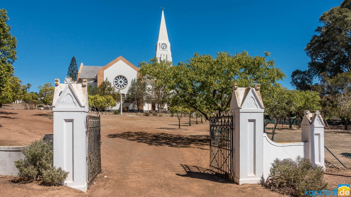 The village of Darling in the Swartland north of Cape Town