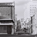 Corner, Church and Loop streets 1977