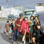 Posing in the Bo-Kaap, 1962