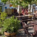 Simple outdoor restaurand in Hout Bay