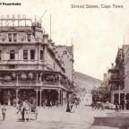 Postkarte Strand Street um 1910