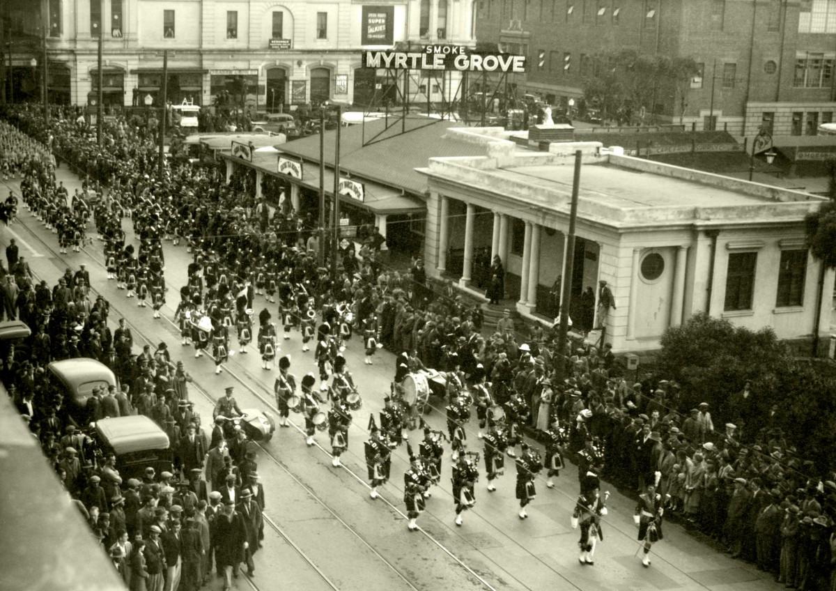 Darling street parade 1936