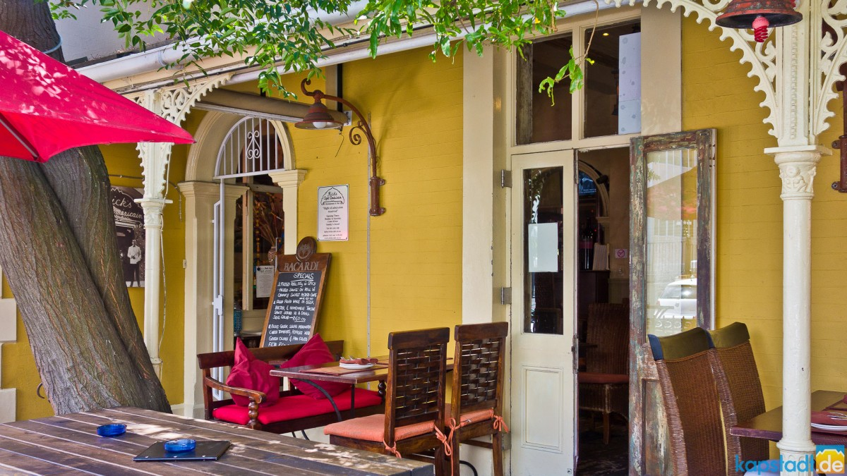 Restaurant in Park Road in Tamboerskloof