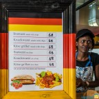 "Fresh german ""Wurst"" products seen in Sea Point"