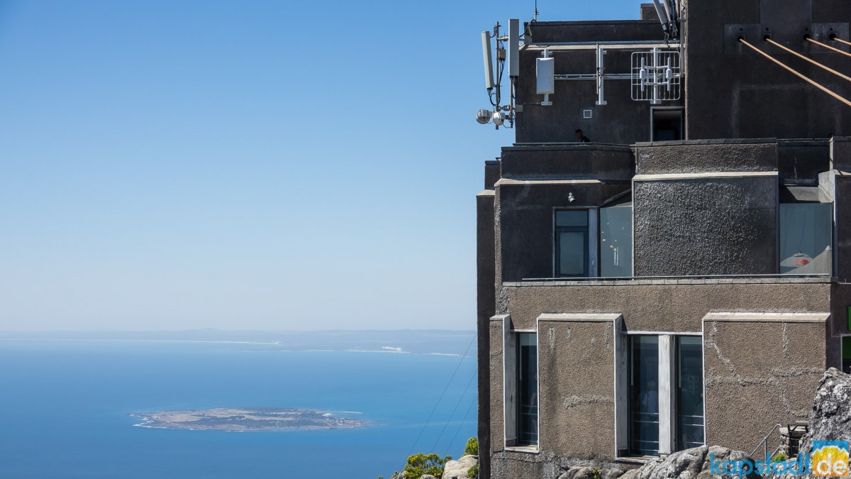 On top of Table Mountain: Upper Cable Car and Robben Island
