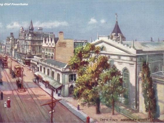 Postkarte Adderley Street