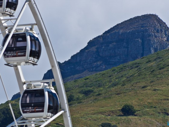 Big Wheel and Signal Hill at the V&A Waterfront