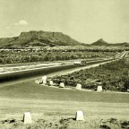 Plattekloof Rd. turn-off from the N1 c1952