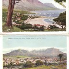 Postkarten Camps bay und Tablemountain