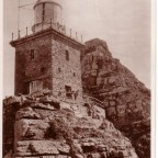 Postkarte Cape Point 26 Jul 1936