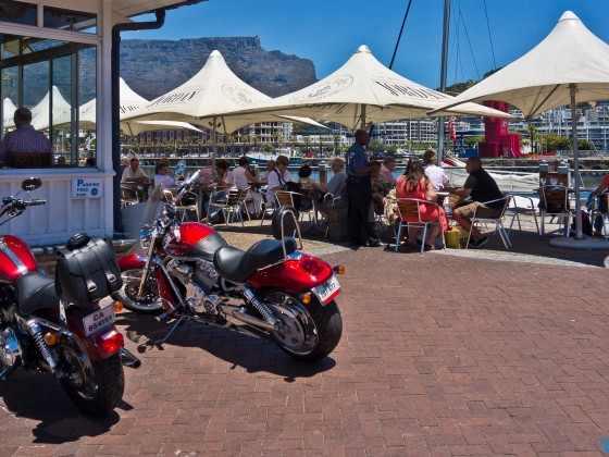 Images from the V&A Waterfront - Den Anker Restaurant