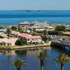 Woodbridge Island and the Milnerton Lagoon