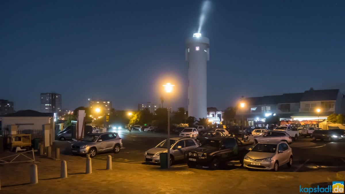 Milnerton Lighthouse in the evening