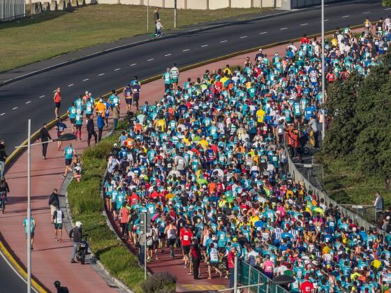 Cape Town 12 ONERUN (21.5.2018) - Start at Woodbridge Island