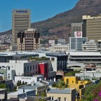 Business District of Cape Town seen from the Waterkant
