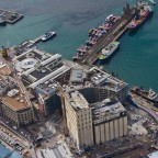 Helicopter flight: V&A Waterfront from the air